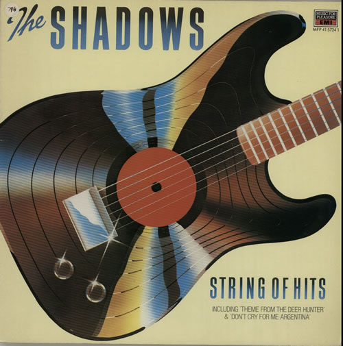 The Shadows String Of Hits 1979 UK vinyl LP MFP4157241