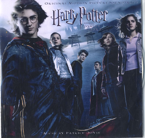 Harry Potter Harry Potter And The Goblet Of Fire 2005 UK CD single CDR ACETATE