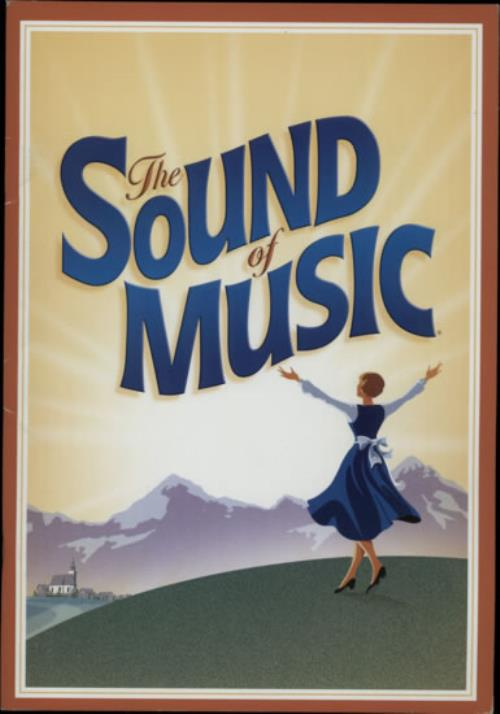VariousFilm Radio Theatre & TV The Sound Of Music  Autographed 2010 UK tour programme SIGNED PROGRAMME