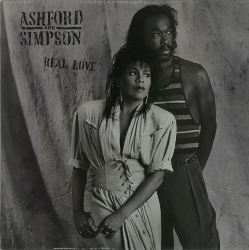 Image of Ashford & Simpson Real Love 1986 UK vinyl LP EST2019