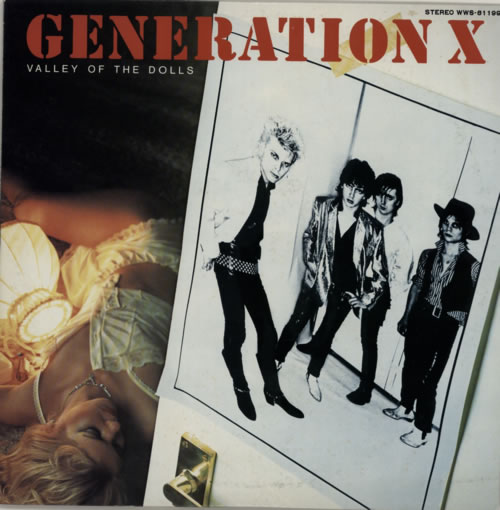 Generation X Valley Of The Dolls 1979 Japanese vinyl LP WWS81199