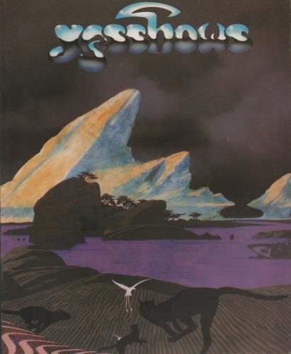 Yes Yesshows 1980  Stub 1980 UK tour programme TOUR PROGRAMME
