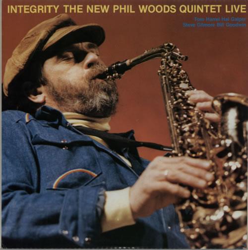 Phil Woods Integrity  The New Phil Woods Quintet Live 1985 Italian 2LP vinyl set VPA177