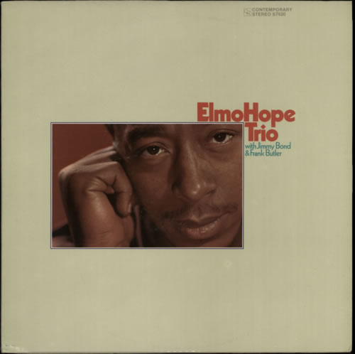 Elmo Hope Elmo Hope Trio 1970 USA vinyl LP S7620