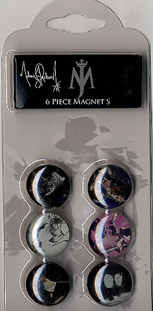 6 Piece Magnet Set