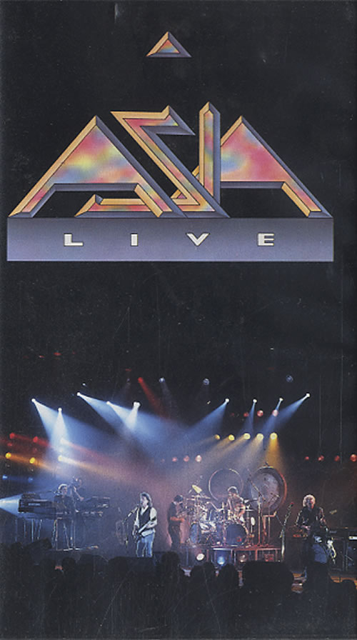 Asia Live 1991 UK video VVD959