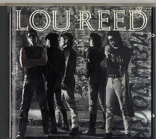 Lou Reed New York 1989 German CD album 9258292