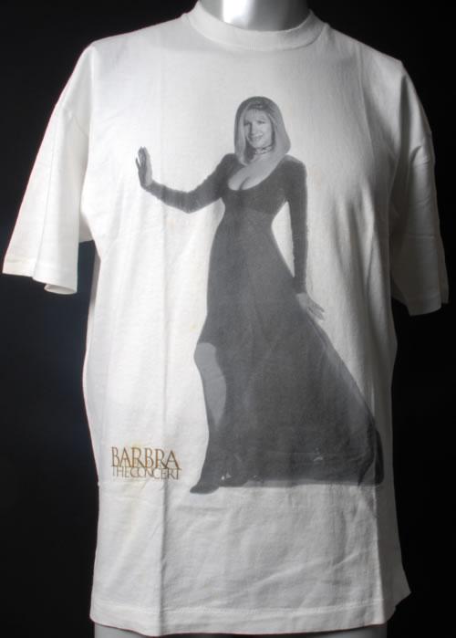 Image of Barbra Streisand Barbra The Concert 1994 1994 UK t shirt T SHIRT