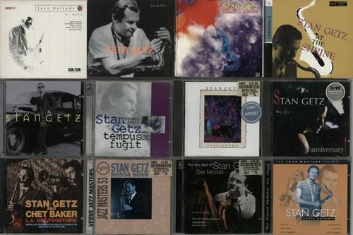 Stan Getz CD Album Collection UK CD album CD ALBUM SET