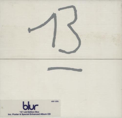 Blur - 13 - Thirteen - Enhanced Limited Edition Box / Ex