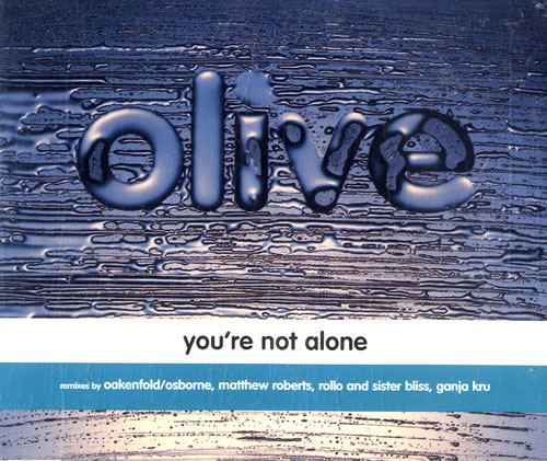 Olive Youre Not Alone 1997 Australian CD single 74321488662
