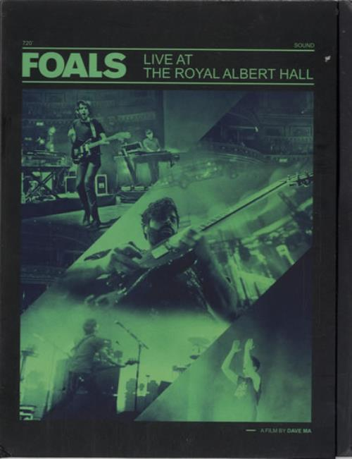 Foals Live At The Royal Albert Hall 2013 UK promo DVD-R DVD-R