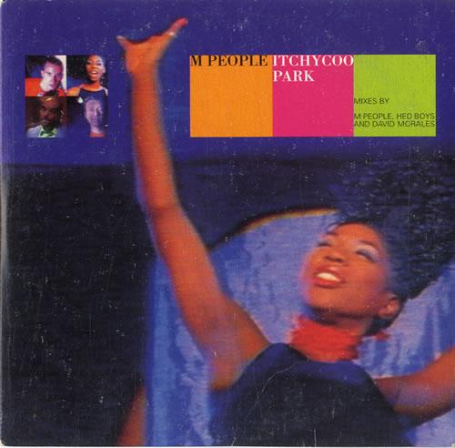 M-People Itchycoo Park 1996 Australian CD single 74321330732