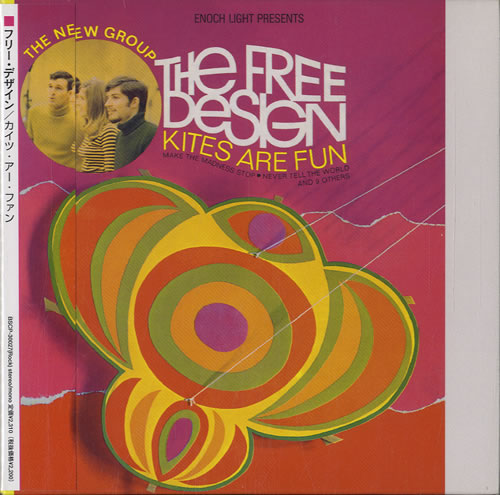 Image of The Free Design Kites Are Fun 2002 Japanese CD album BSCP-30027