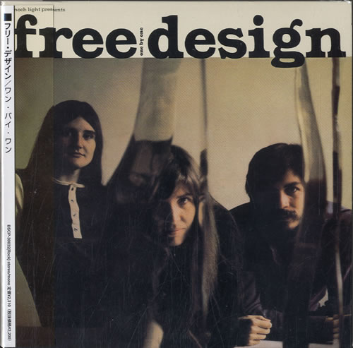 Image of The Free Design One By One 2002 Japanese CD album BSCP-30032