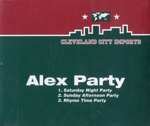 Alex Party Alex Party 1993 UK CD single CCICD17000