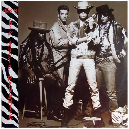 Big Audio Dynamite This Is Big Audio Dynamite  2nd 1988 UK vinyl LP 4629991