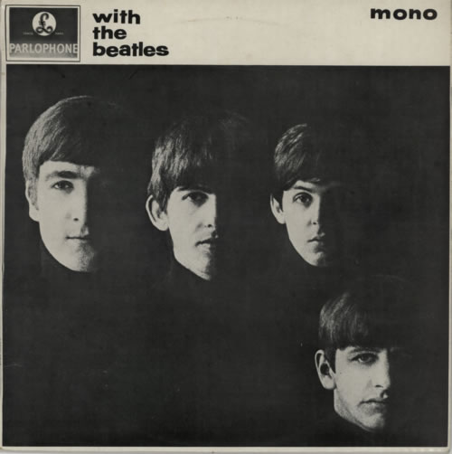 The Beatles With The Beatles  2nd New Zealand vinyl LP PMCM1206