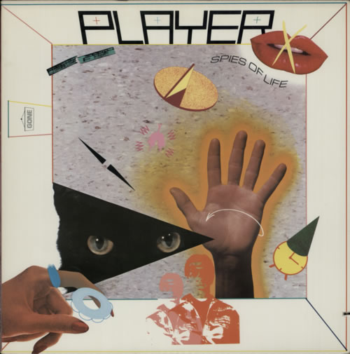Player Spies Of Life 1982 USA vinyl LP AFL14186