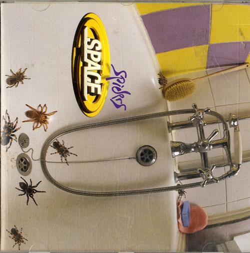 Space (90s) Spiders 1996 UK CD album GUTCD1