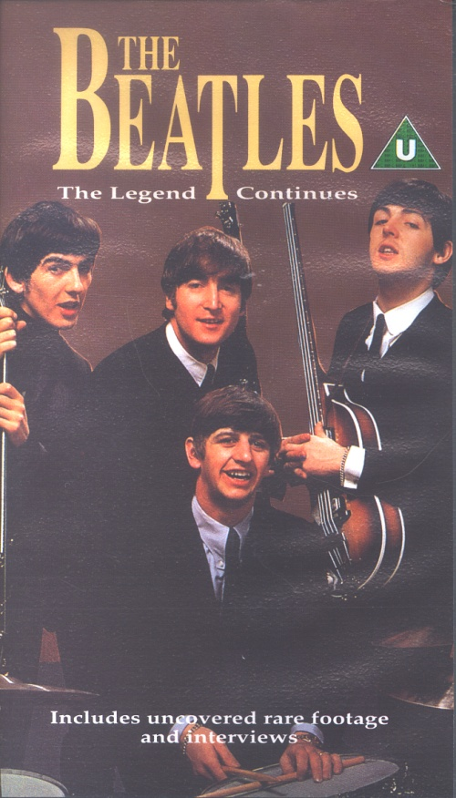 The Beatles The Legend Continues 1991 UK video SUK21252