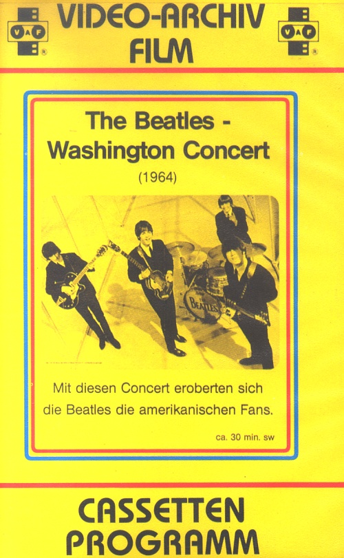 The Beatles The Beatles' Washington Concert German video 060