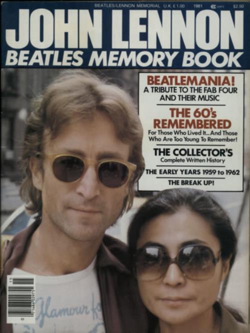 Beatle's Memory Book
