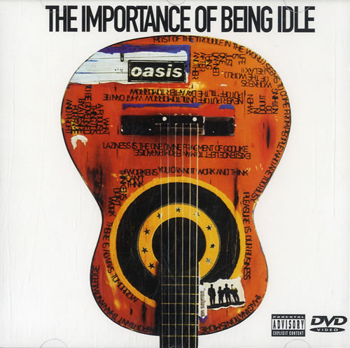 Oasis The Importance Of Being Idle 2005 UK DVD Single RKIDSDVD31