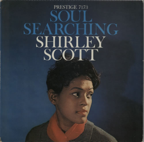 Shirley Scott Soul Searching 1959 USA vinyl LP PRLP7173