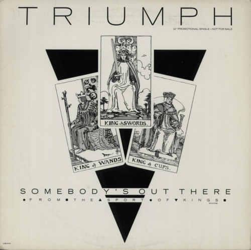Triumph Somebodys Out There 1986 USA 12 vinyl L3317171