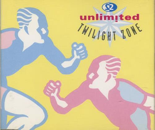 2 Unlimited Twilight Zone 1992 UK CD single PWCD211