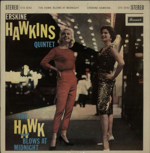 Erskine Hawkins The Hawk Blows At Midnight 1960 UK vinyl LP STA3042