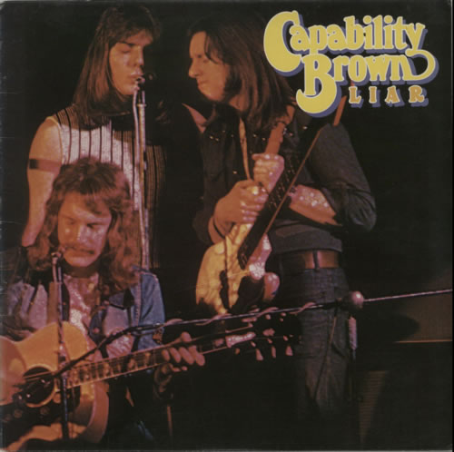 Capability Brown Liar 1976 UK vinyl LP CS5