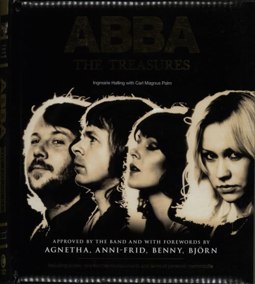 Abba Abba The Treasures 2014 UK book ISBN9781780974941