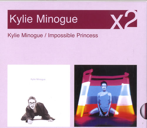 Kylie Minogue Kylie Minogue  Impossible Princess 2007 UK 2CD album set 88697154382