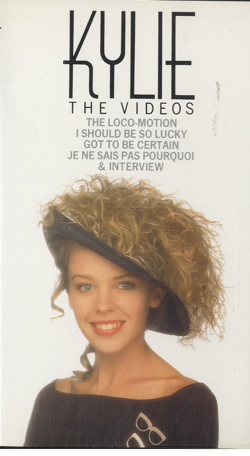 Kylie Minogue The Videos & The Videos 2 1988 UK video VHF39