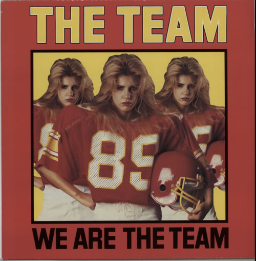 The Team We Are The Team (Lead Bellys Mix) 1985 UK 12 vinyl 12EMI5539