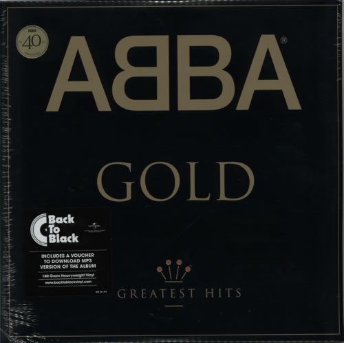 Abba Abba Gold  Greatest Hits  180gm  Sealed 2014 UK 2LP vinyl set 5351106