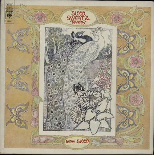Blood Sweat & Tears New Blood  EX 1972 UK vinyl LP 65252
