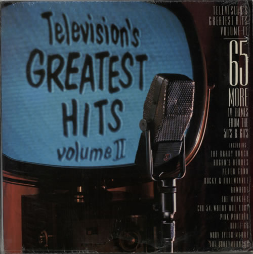 VariousFilm Radio Theatre & TV Televisions Greatest Hits Volume II 1988 USA 2LP vinyl set TVT1200