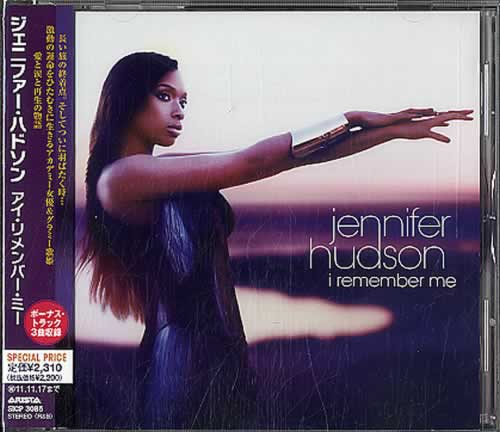 Jennifer Hudson I Remember Me 2011 Japanese CD album SICP3085