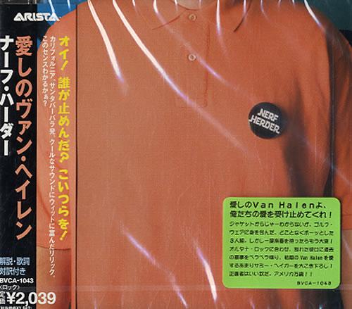 Nerf Herder Nerf Herder 1996 Japanese CD album BVCA1043