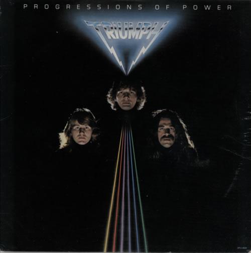 Triumph Progressions Of Power 1980 USA vinyl LP AFL13524
