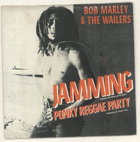 Bob Marley Jamming - p/s 1977 UK 7\