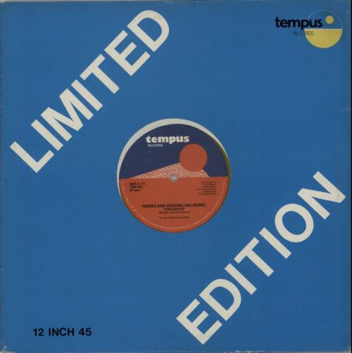 Pam Nestor Hiding And Seeking (No More)  Yellow Vinyl 1979 UK 12 vinyl TEMD21