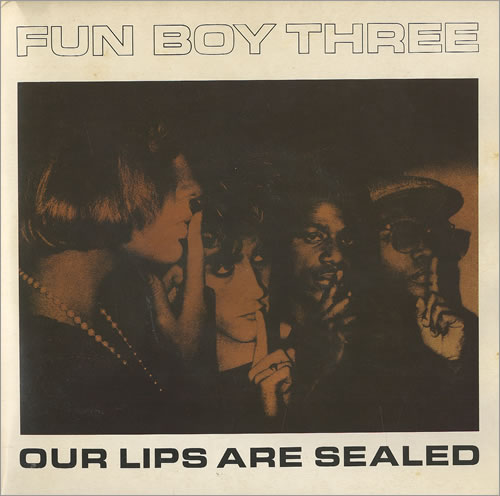 """Image of Fun Boy Three Our Lips Are Sealed - Double Pack 1983 UK 7"""" vinyl FUNB1"""