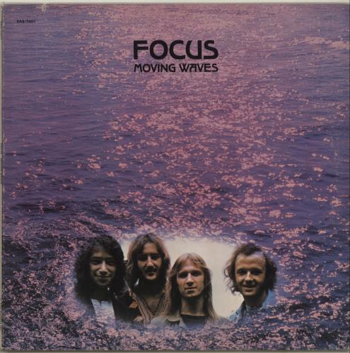 Focus Moving Waves  EX 1971 USA vinyl LP SAS7401