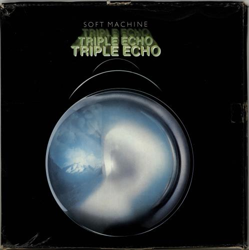 Soft Machine Triple Echo  VG 1977 UK 3LP vinyl set SHTW800