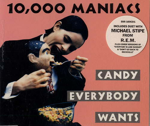 Image of 10,000 Maniacs Candy Everybody Wants 1993 UK CD single EKR160CD1