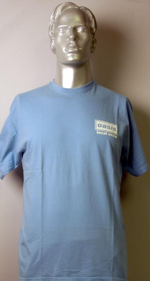 Oasis Oasis  Local Crew UK tshirt CREW TSHIRT